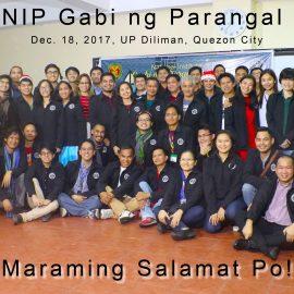 NIP holds Gabi ng Parangal 2017