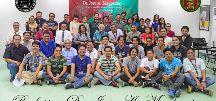 NIP honors Prof. Dr. Jose A. Magpantay